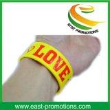 Custom Logo Bracelet en caoutchouc silicone