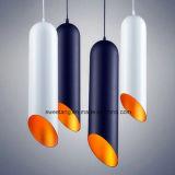 Lámpara pendiente de aluminio de 6 colores para la luz de interior