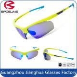 Lunettes de soleil de recyclage du sport UV400 de miroir professionnel de lunetterie