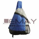 Saco de promoção do triângulo de mochila escolar