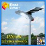 210lm/W à LED de la rue lumière solaire de jardin avec télécommande