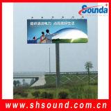 La bandiera di Frontlight per fa pubblicità alla stampa