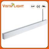 Aluminiumlineare Deckenleuchte des strangpresßling-100-277V LED für Krankenhäuser