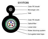 Fig8는 각자 지원한다 Unitube 기갑 눈 섬유 케이블 (GYXTC8S)를