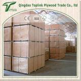 Chapas de madera de 5 capas de madera de álamo Core Okoume Fantasía Comercial