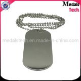 Hot Sale Metal Cheap Wholesale Stainless Steel Blank Tags pour chiens
