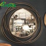 Forma redonda de estilo francés, el arte de pared espejo
