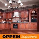 Дворец l кухонный шкаф Oppein кухни вишни формы деревянный (OP12-L010)