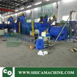 Macchina di produzione di plastica di schiacciamento, di lavaggio e di essiccamento dell'animale domestico del LDPE pp dell'HDPE