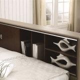 침실 가구 Fb8048b를 위한 2017 최신 디자인 일본과 한국 현대 작풍 진짜 가죽 연약한 침대