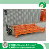 Gabbia piegante di logistica del metallo per il magazzino con Ce da Forkfit