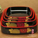 Plástica del cuadro de estilo japonés almuerzo de Bento (B0301A)