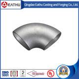 Saldatura di testa del acciaio al carbonio di ASME/ANSI B16.9 Sch40 i gomiti LR da 90 gradi