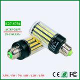 LED 전구 5736 SMD 더 밝은 옥수수 램프 전구
