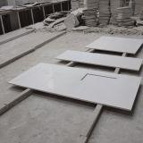 Countertop кварца Sparkle строительного материала белый в оптовой продаже