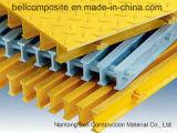 Rejas de FRP/GRP Pultruded, I-40125, 32*15*25*10m m, rallando, reja de la fibra de vidrio
