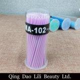 50ПК/много одноразовых ватный тампон Micro щетки ресницами расширение индивидуальных клапанный узел нанесения клея снятия макияжа средства Ватным