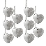 선전용 선물 심혼 모양 보석 다이아몬드 USB 섬광 드라이브