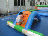 Gioco gonfiabile a buon mercato di galleggiamento della sosta dell'acqua per i capretti
