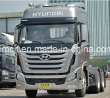 80-100トンの引きの新しいヒュンダイ6X4の重いトラクターヘッド