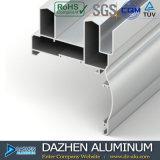 Profil en aluminium d'extrusion pour les types populaires du marché de la Libye avec la couleur personnalisée