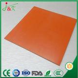 Folha de borracha de silicone personalizada Almofada de placa para aquecimento de Temperatura Alta Press