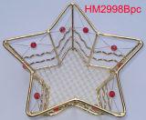 Cesta de Navidad de metal (HM2998BPC)
