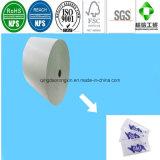 Doppeltes versieht PET überzogenes Papier für Salz-Quetschkissen-Beutel mit Seiten