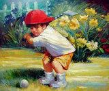 Peinture à l'huile d'art d'escompte de sports (04)