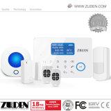 Sistema de alarma sin hilos del G/M de la seguridad casera con control del APP