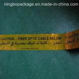 Nachweisbares Vorsicht-Tiefbauband für das Faser-Kabel-Schützen