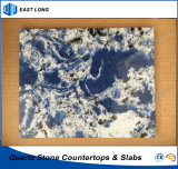 De in het groot Steen van het Kwarts voor De Stevige Oppervlakte van het Bouwmateriaal met Uitstekende kwaliteit (Marmeren kleuren)
