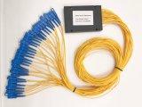 연결관을%s 가진 Gpon 원거리 통신 1X32 플라스틱 상자 PLC 쪼개는 도구