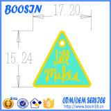 Encanto feito sob encomenda do logotipo da forma do triângulo para a jóia