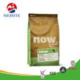 Алюминиевые ламинированные ПЭТ упаковки продуктов питания сумка с молнией, собака мешок для упаковки продуктов питания