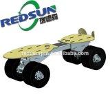 Suporte de skate protótipo de extrusão de alumínio por usinagem CNC com ouro anodizados