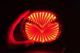 Lumière d'insigne de logo du véhicule 3D DEL d'automobile de Lmusonu pour Mazda