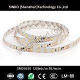 indicatore luminoso di striscia flessibile di 2400K-6000K Samsung Cc24V 5630 72LEDs LED per i ristoranti