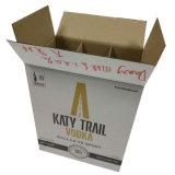 Seis cajas de vino botella