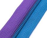 접촉 지퍼 테이프 (bule&purple) /Top 질을%s 가진 나일론 지퍼