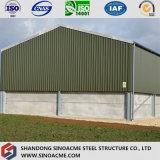 Vorfabriziertes helles Stahlgebäude für Lager