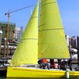 ガラス繊維の物質的なMonohullのタイプはヨットのトレーニングセンターのためのヨットを遊ばす