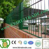 Double clôture en grillage Revêtement en PVC