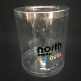 Borrar tubos cilindro de plástico (PET caja redonda)