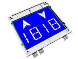 """4.3 """" DuplexStn Höhenruder LCD mit blauem Hintergrund"""