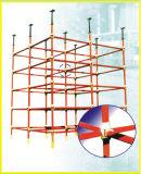 Système de construction d'échafaudage de paroi