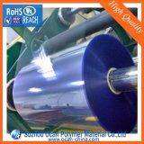 青い色合いロールの透過PVC明確なシート