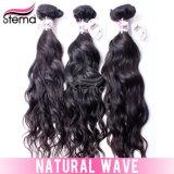 2014 fabricado en China Comentarios de buen grado 6A pelo brasileño onda Natural Hair Extension