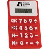 Flexible m'appuyer calculatrice promotionnelle colorée