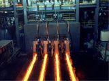 水平の連続的な鋼片の鋳造機械